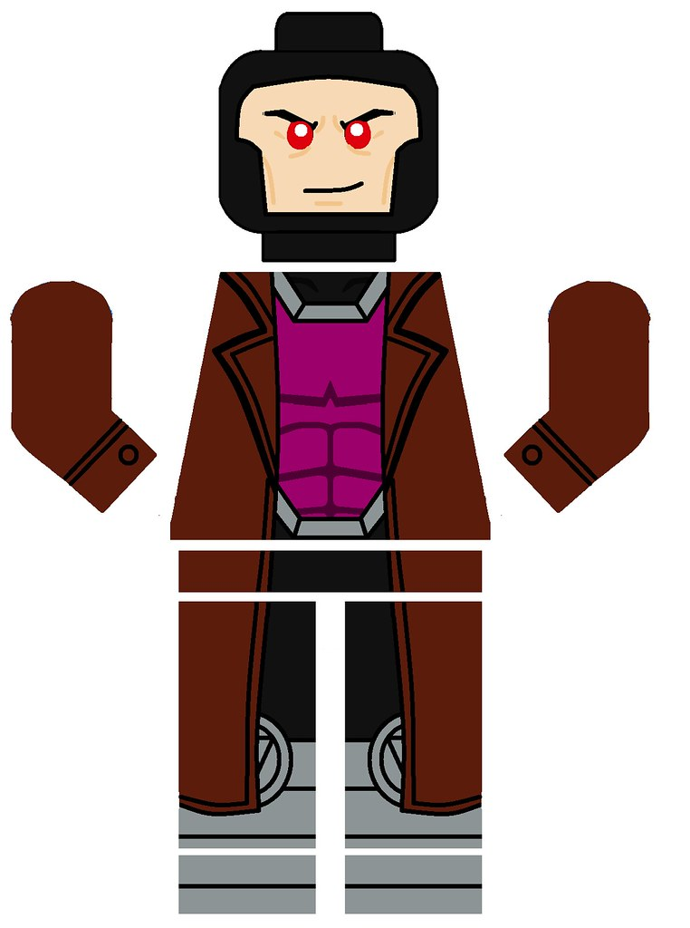 Lego Gambit Decal I Hope You Enjoy Pivote1342 Flickr