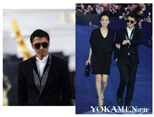 Best clothing men's fashion stars Aaron Kwok, Andy Lau Downey Top10