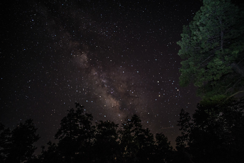 Milky Way from Mingus Mountain