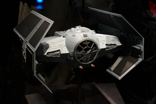 Tie Fighter in the Star Wars Launch Bay | by Disney, Indiana