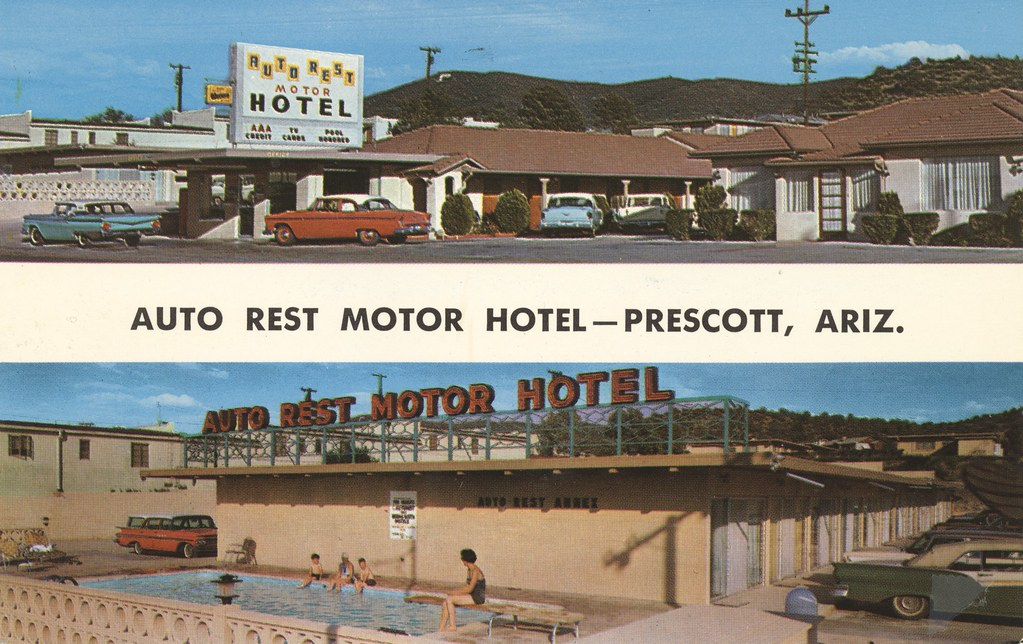 Auto Rest Motor Hotel - Prescott, Arizona