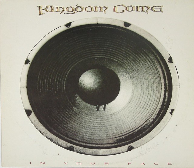 "KINGDOM COME IN YOUR FACE Polydor 839 192 Polygram Records 12"" vinyl LP"
