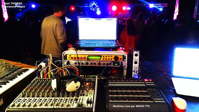 Echo System 15 ans de free party live woxo ttc