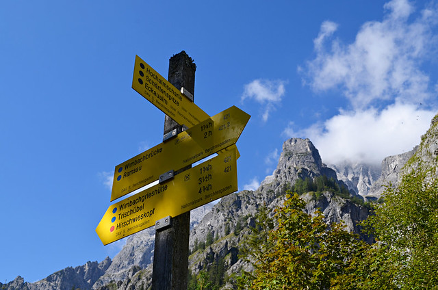 Signposts, Bavaria