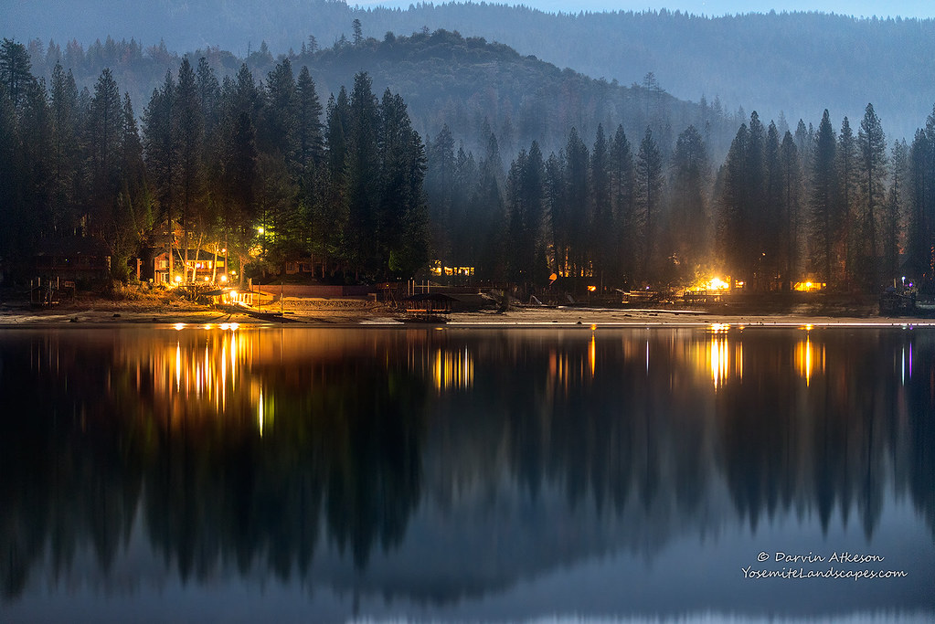 Winter night on the lake bass lake when talking about for Bass lake ca fishing
