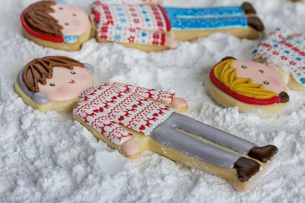 Galletas decoradas niños Navidad