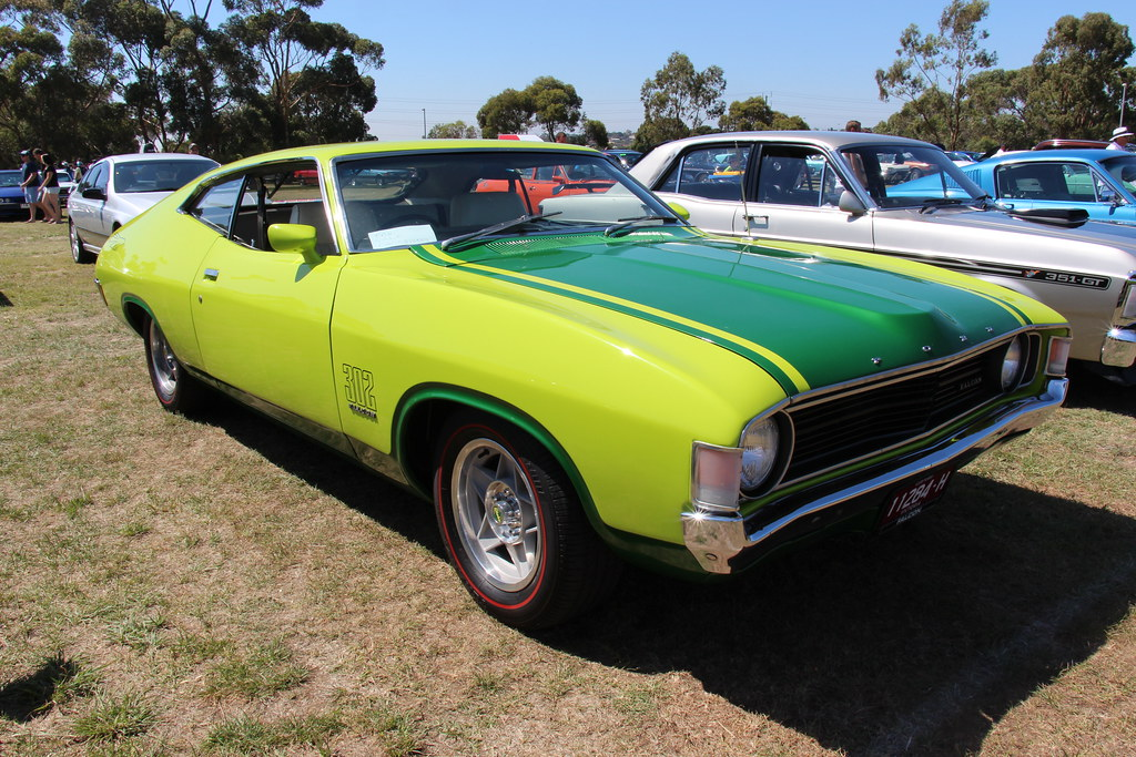 2 Door Charger >> 1973 Ford XA Superbird Hardtop   Lime Glaze / Calypso ...