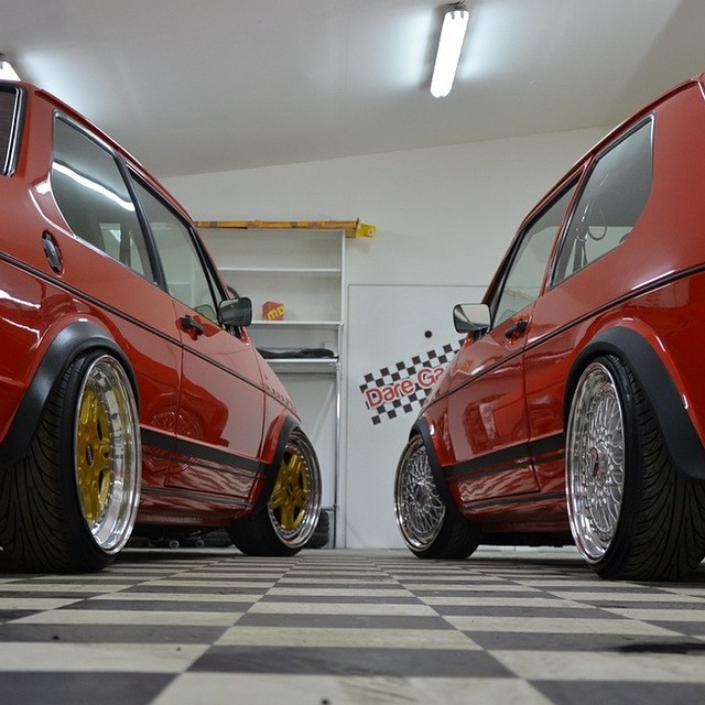 Left Or Right Lowered Mk1 Rabbit Volkswagen 3d Golf