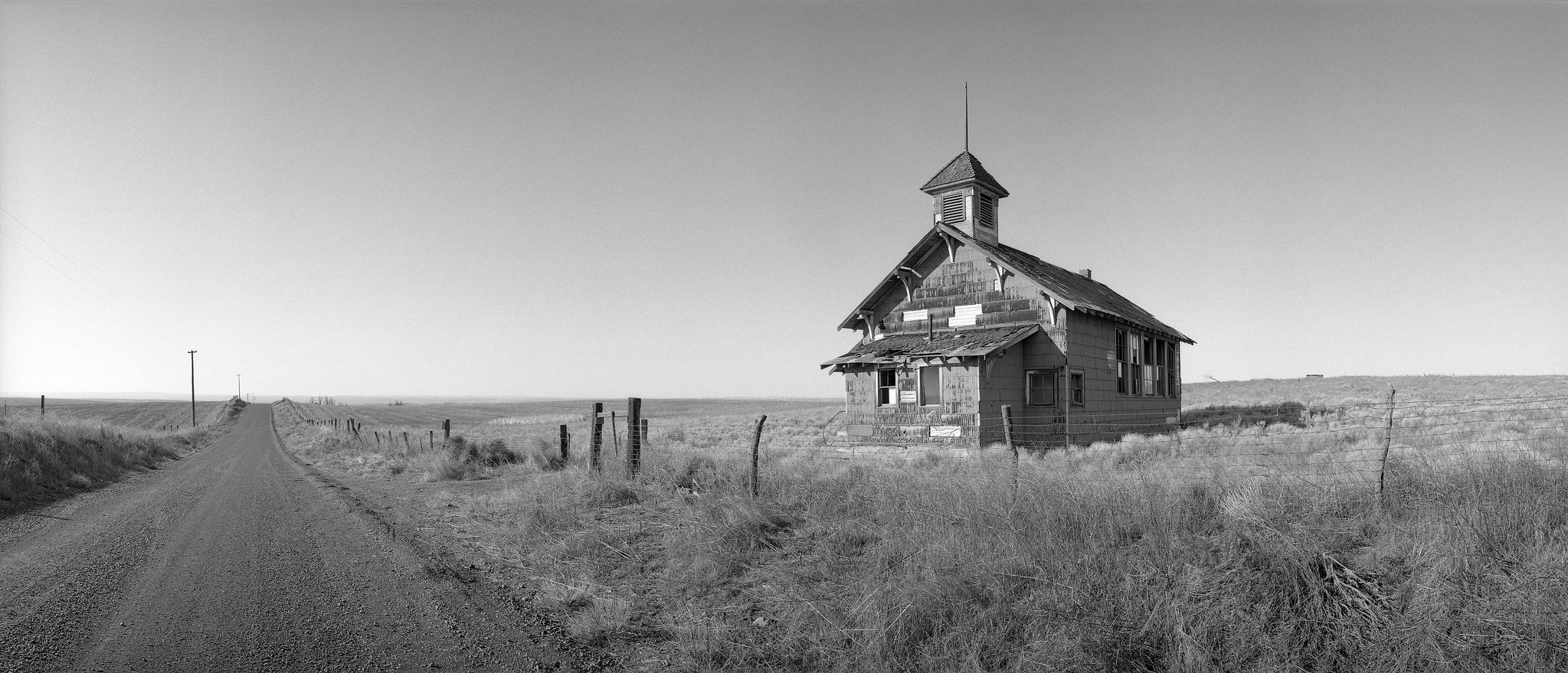 Abandoned Schoolhouse, Goodnoe Hills, Washington | by austin granger
