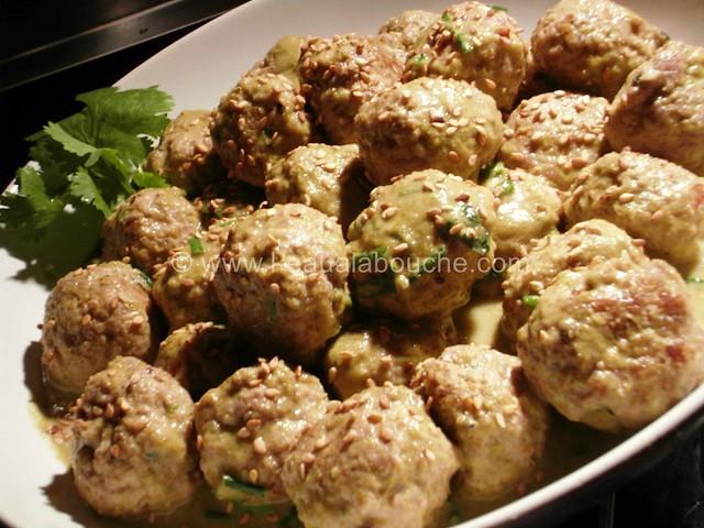 Boulette de Porc au Sésame au Curry Vert © Ana Luthi  Tous droits réservés 5
