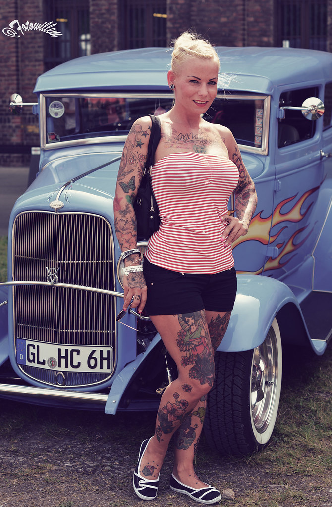 Hot Rod Babe Gladbeck  Willem Vernooy Fotowillem  Flickr