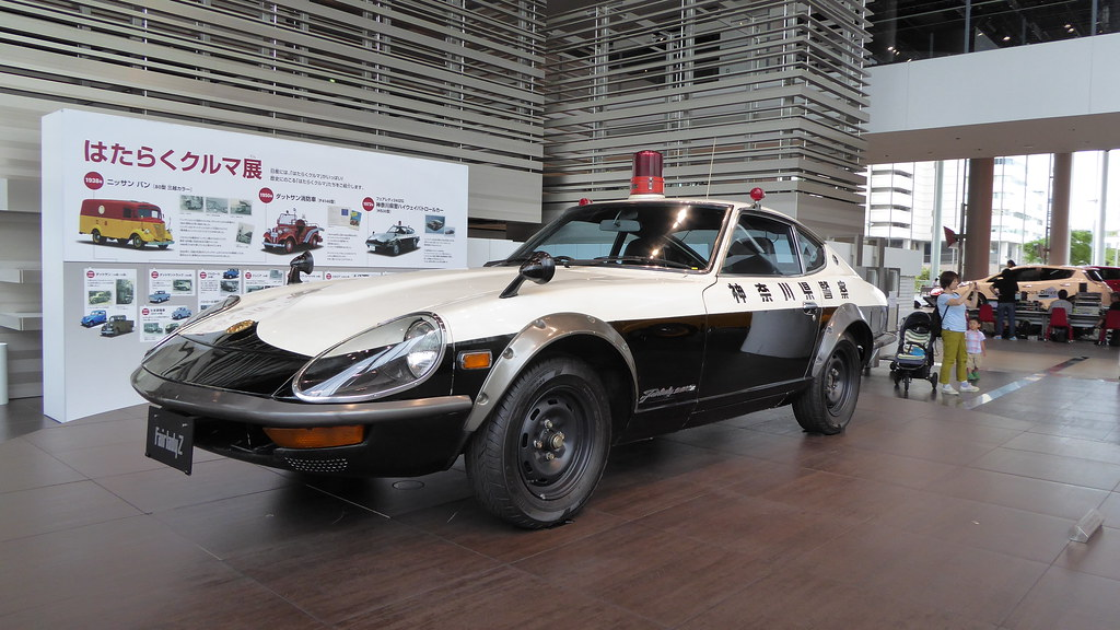Nissan Fairlady Z Police Car 1976 Japan Www