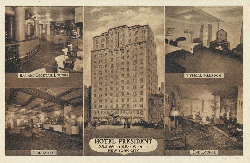 Hotel President - New York, New York
