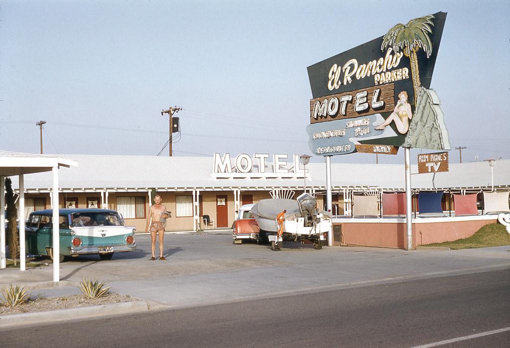 El Rancho Parker Motel | Parker, Arizona | jericl cat | Flickr