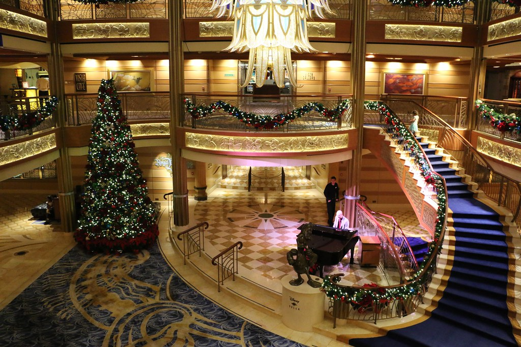 Image result for disney dream atrium merrytime
