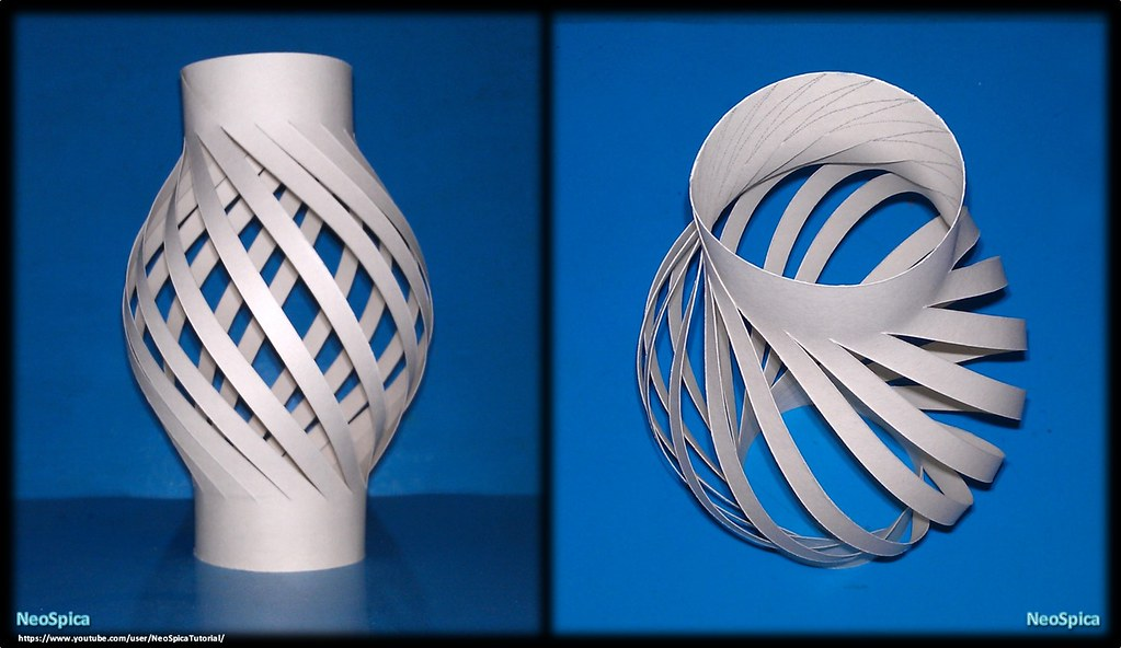 Paper Lamp Ball Twist Spiral 3