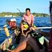 A Bajau, a Frenchman, and a Canadian go fishing