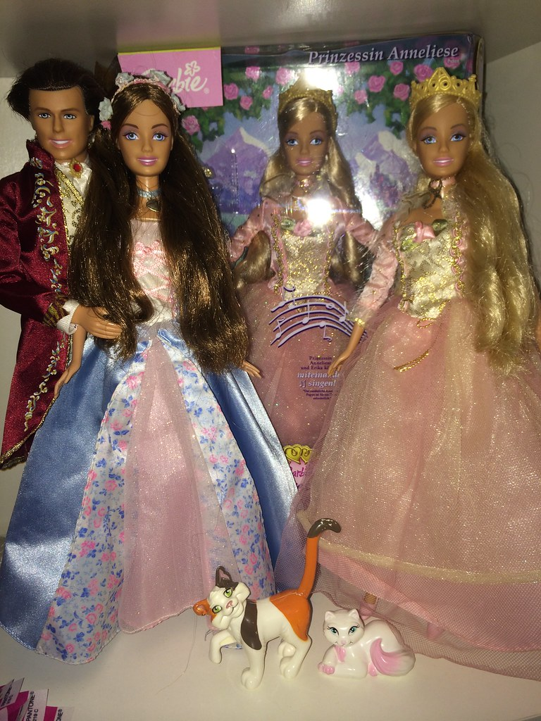 Barbie Princess and The Pauper Erika & Dominik doll | Flickr