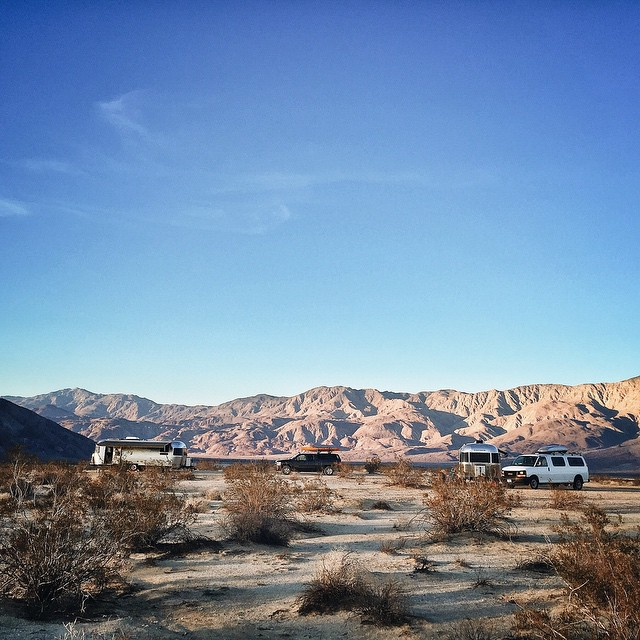 Circling the wagons once again. This time it's Anza Borrego.