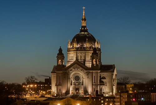 Cathedral of St. Paul, Sunset | by @Michael