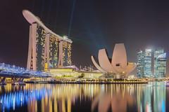 Marina Bay Sands Laser Show