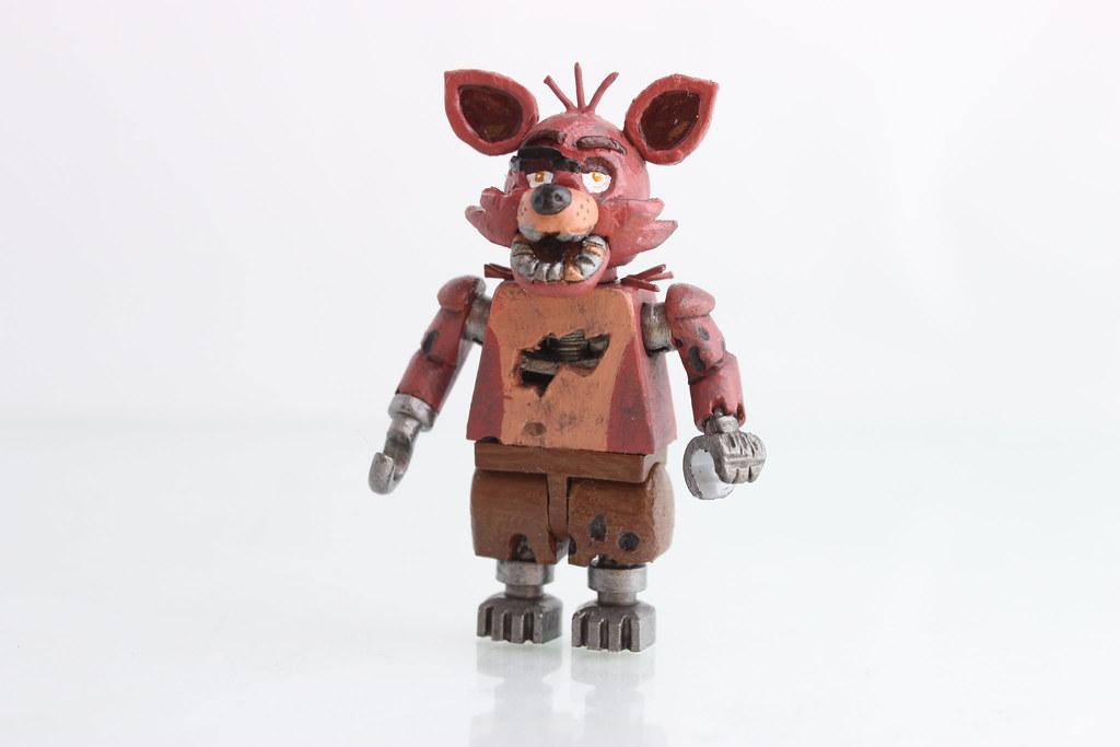 Custom lego foxy here is my custom foxy from five nights a