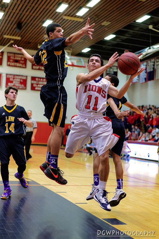Foran vs. Jonathan Law - High School Basketball Doubleheader