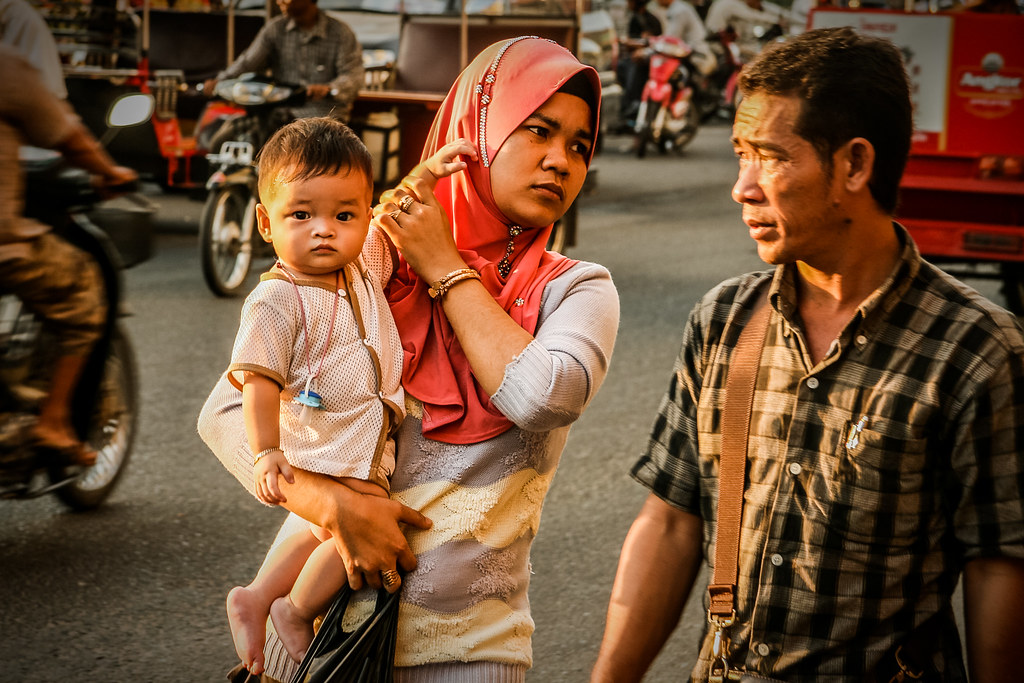 Cambodian family