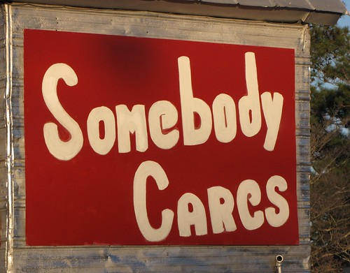 Somebody CARes | by Gerry Dincher