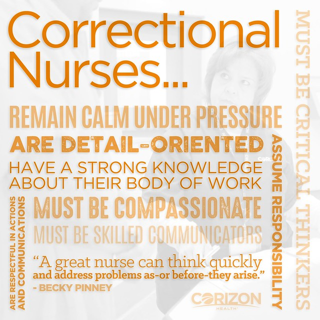 Essentials for success as a nurse in the correctional setting