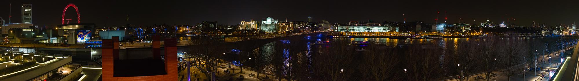 Londres por la noche.