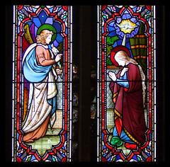 Annunciation (Ward & Hughes, 1860s)