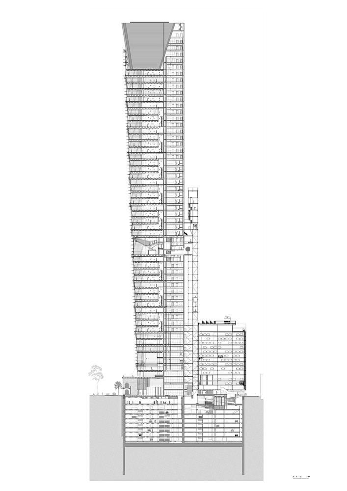 План 57-этажного небоскреба от LBR + A