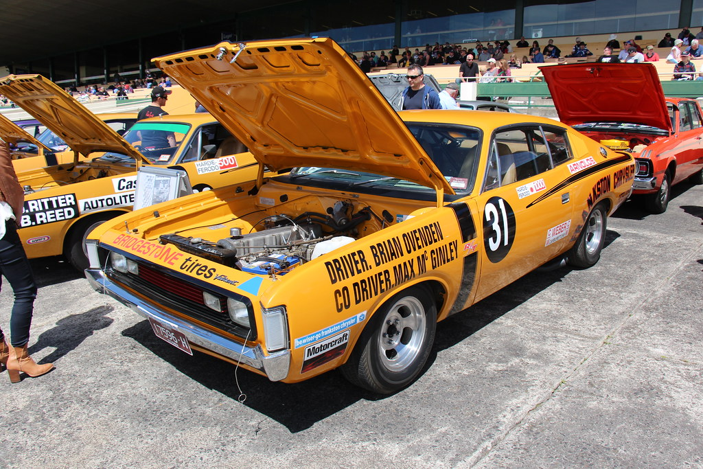 1972 Chrysler Vh Valiant Charger E49 Race Car The Vh Valia Flickr