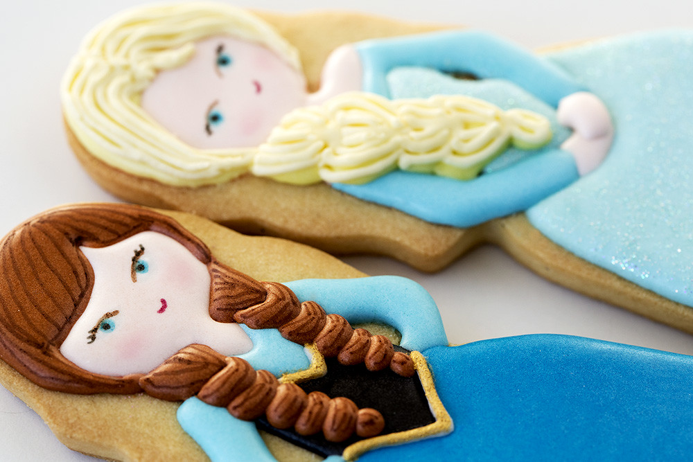 Galletas decoradas Frozen