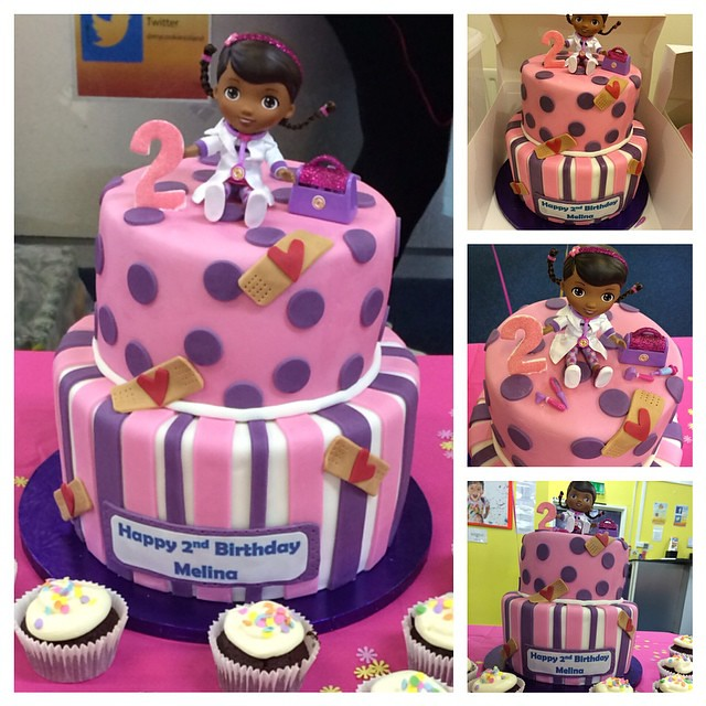 Doc Mcstuffins Birthday Cake Classic Vanilla Red Velvet Flickr