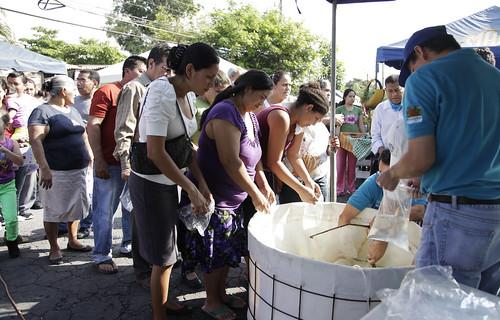 Festival del Buen Vivir Col. San Felipe, Ilopango.