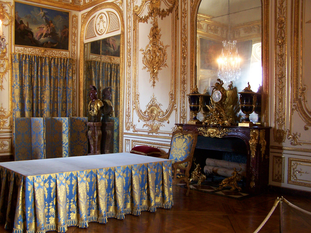 cabinet du conseil du ch teau de versailles d 39 o louis xi flickr. Black Bedroom Furniture Sets. Home Design Ideas