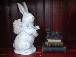 Prim Bunny and Black Wax Sheep | by A Storybook Life