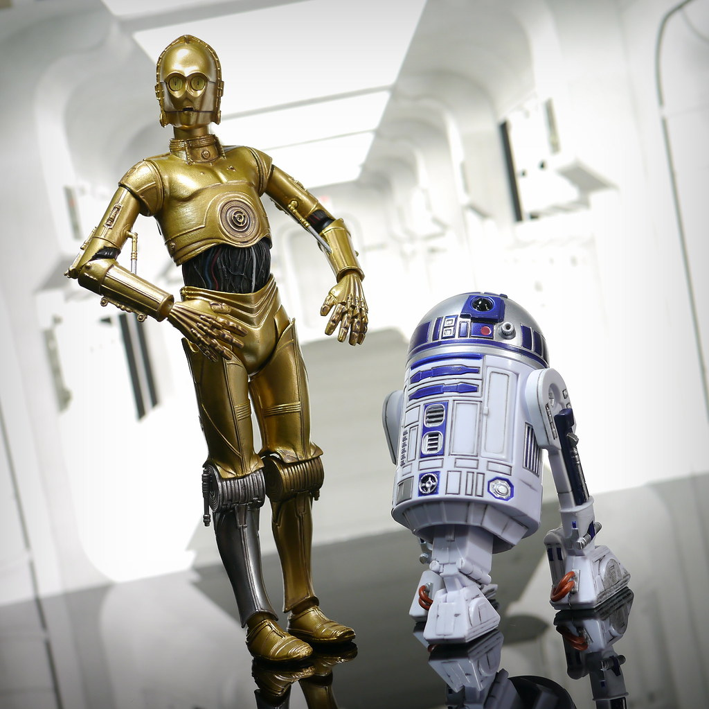 R2d2 And C3po Toys : Revo c po and black series r d is actually in