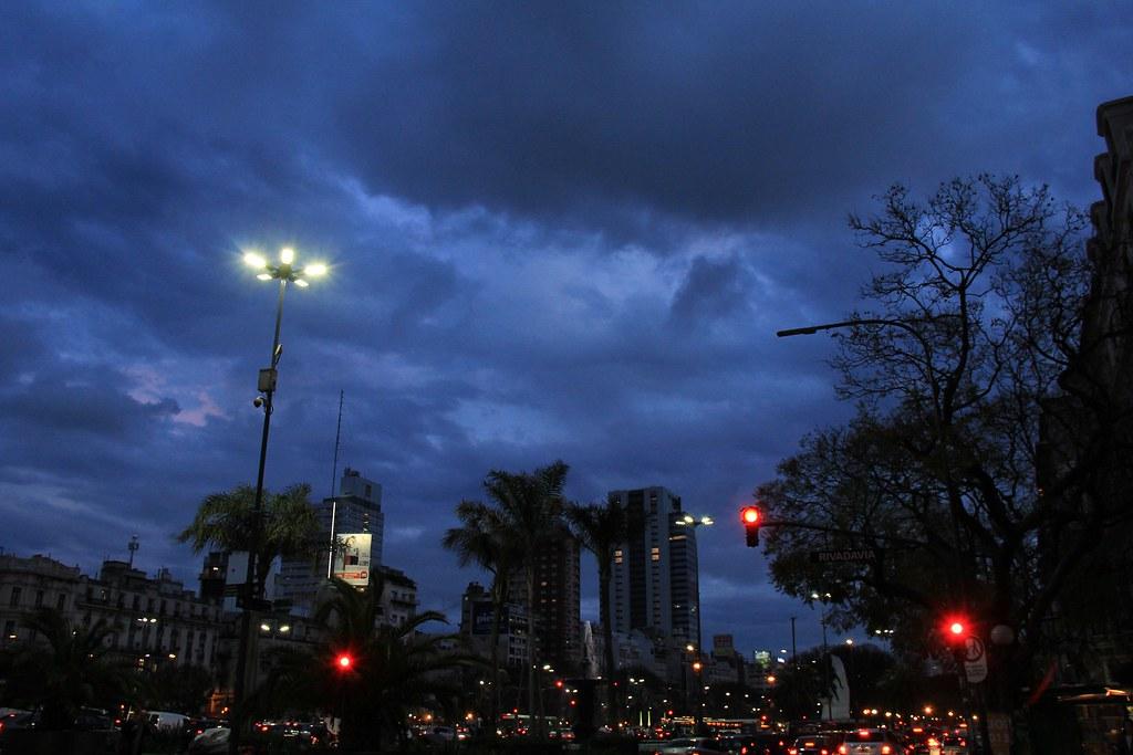 Calle Rivadavia Buenos Aires