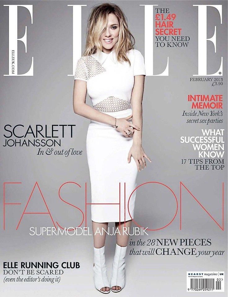 Scarlett Johansson – Elle Magazine Cover [United Kingdom ...