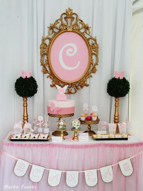 mesa dulce bautizo mariposas merbo events.com