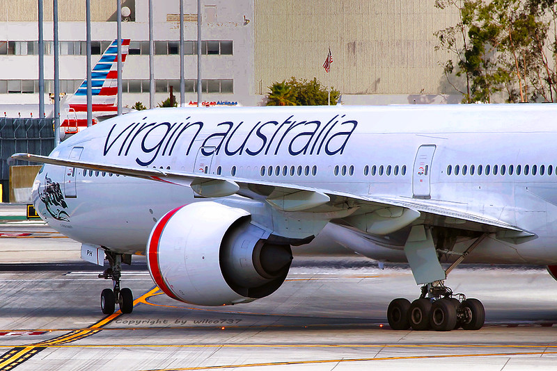 Virgin Australia Boeing 777-300ER in LAX (VH-VPH)