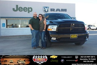 Four Stars Auto Ranch >> Congratulations to Brandon and Amanda Hill on your #Ram #1 ...