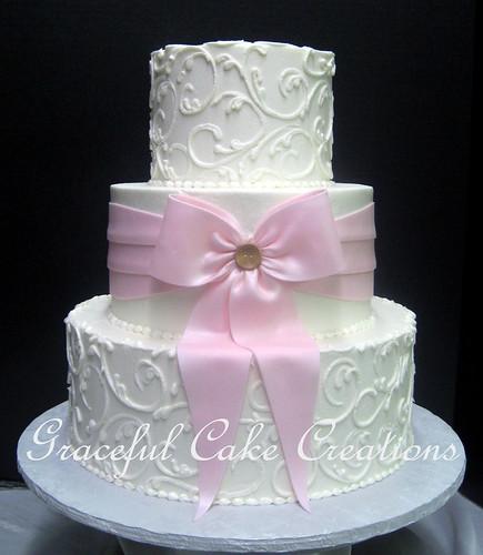 Pink Ribbon Cake Pan
