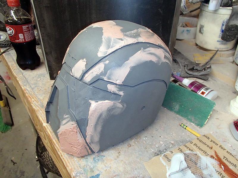 Shae Vizla Helmet Bondo