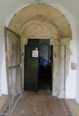 south door and churchwarden