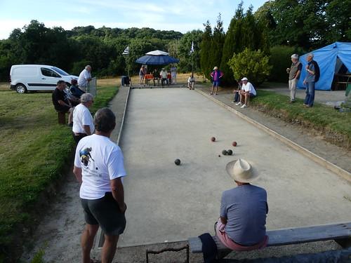 31/07/2016 - Lannigou (Ploujean en Morlaix) : Concours de boules plombées en triplettes formées