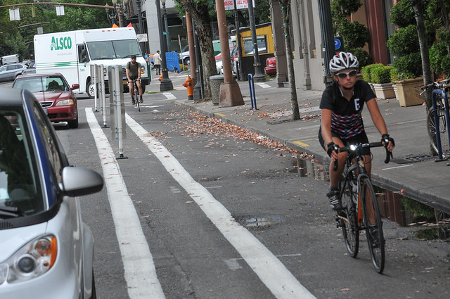 New bikeway on SW 2nd Avenue-9.jpg